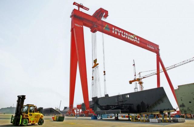 Σε μαζικές απολύσεις προχωρά η Hyundai Heavy Industries