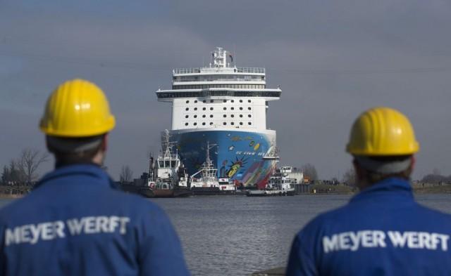 Η κρουαζιέρα συνεχίζει να δίνει ζωή στα ευρωπαϊκά ναυπηγεία