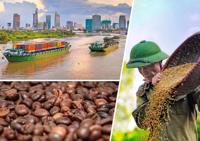 Καφές και ρύζι στο στόχαστρο των εξαγωγών του Βιετνάμ