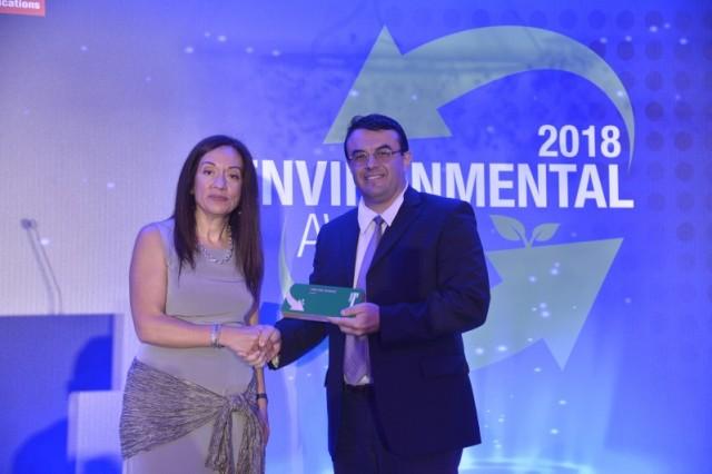 Η HELMEPA βραβεύεται για τη συνεισφορά της στην προστασία του περιβάλλοντος