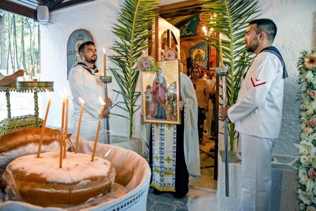 Ο εορτασμός της Αγίας Μαρίνας από το ΠΝ