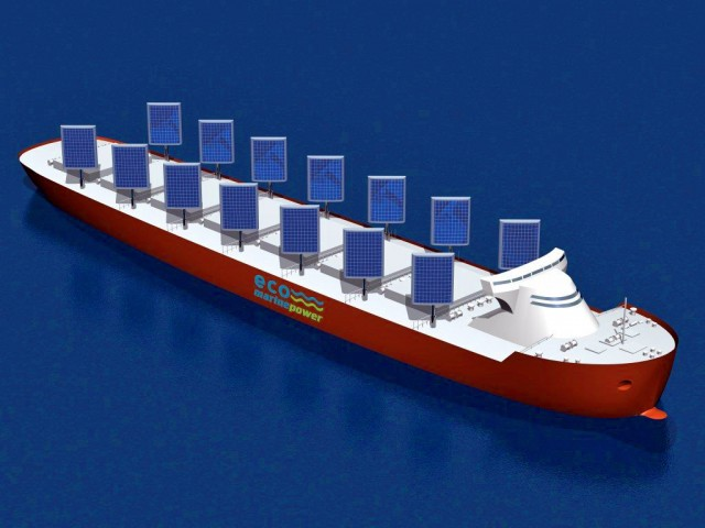 Η ηλιακή ενέργεια στις υπηρεσίες της ναυτιλίας