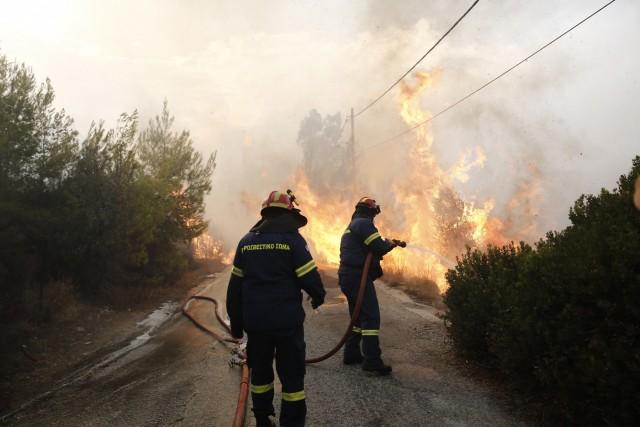 Η Ένωση Ελλήνων Εφοπλιστών στο πλευρό των πληγέντων από τη λαίλαπα της φωτιάς