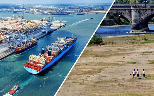 Ο ολλανδικός ναυτιλιακός κλάδος παραδομένος στα χέρια της ξηρασίας