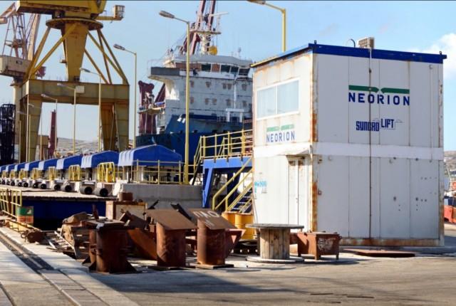 Στρατηγική συνεργασία του Νεώριου Σύρου με την MAN Diesel & Turbo Hellas Ltd.