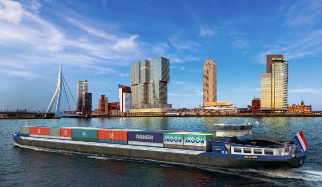 Damen και Skoon Energy: Συμφωνία για προώθηση βιώσιμων ναυτιλιακών λύσεων