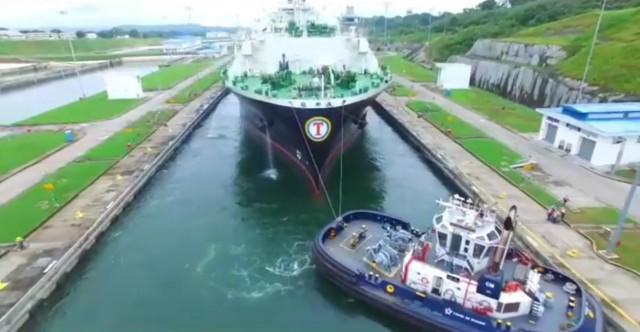 Διώρυγα του Παναμά: Ρεκόρ στις διελεύσεις πλοίων