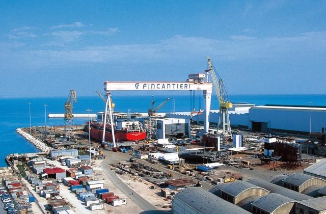 Ρεκόρ στις παραγγελίες πλοίων που λαμβάνουν τα Fincantieri