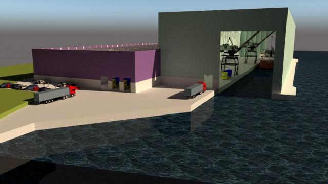 Ενισχύονται οι δυνατότητες διαχείρισης φορτίων στον λιμένα North Sea