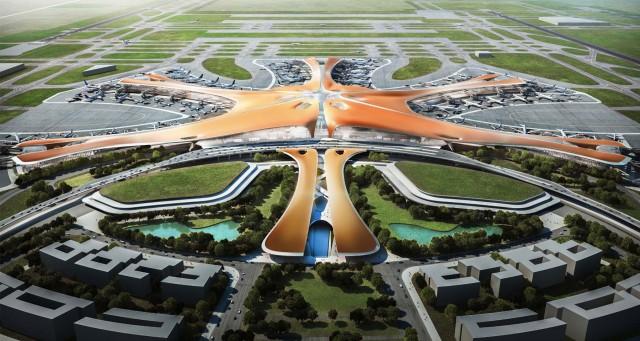 Στο Πεκίνο το μεγαλύτερο αεροδρόμιο του κόσμου