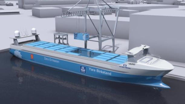 Η Vard προχωρά σε ναυπήγηση ενός αυτόνομου και ηλεκτροκίνητου containership