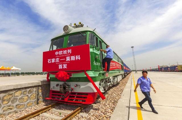 """Ο νέος """"Δρόμος του Μεταξιού"""" στρέφεται προς τα τρένα"""