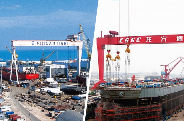 Νέα ιταλοκινεζική συνεργασία στον ναυπηγοκατασκευαστικό κλάδο