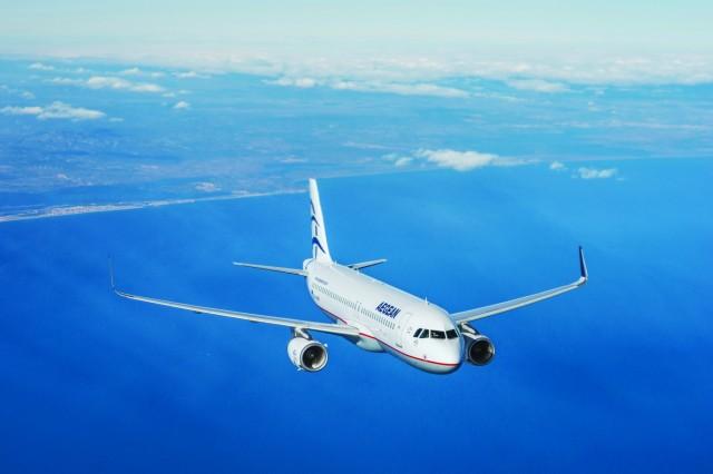 Αυξημένη πληρότητα πτήσεων για την Aegean Airlines