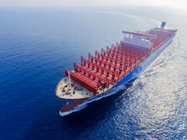 Ακόμη ένα mega containership για την COSCO Shipping Container Lines