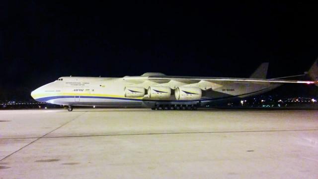 Στο Διεθνή Αερολιμένα Αθηνών το μεγαλύτερο αεροσκάφος του κόσμου