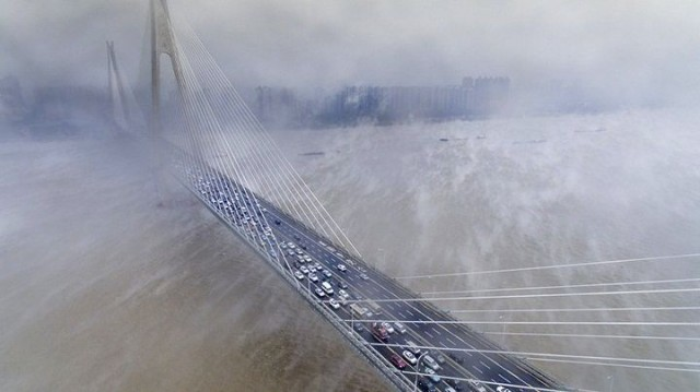 Τυφώνας σαρώνει το δυτικό τμήμα της Ιαπωνίας