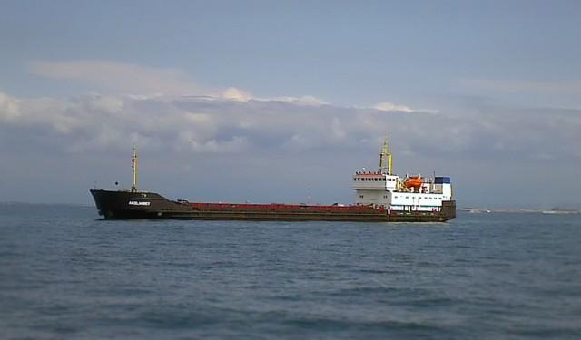 Προσάραξη φορτηγού πλοίου στη βόρεια Εύβοια
