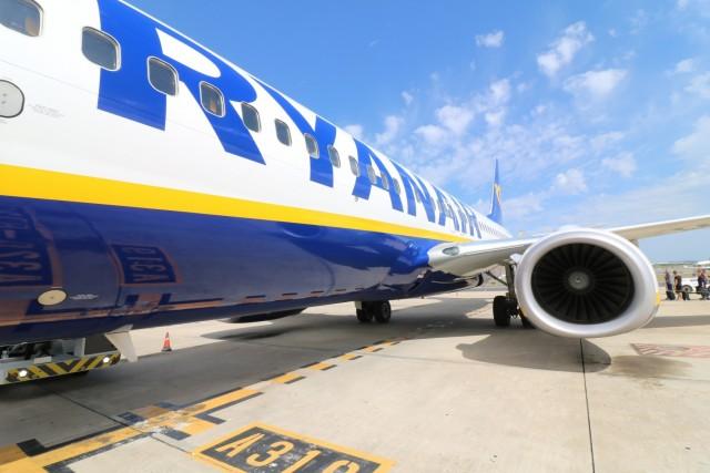 Αυξημένη η επιβατική κίνηση για την χαμηλού κόστους Ryanair