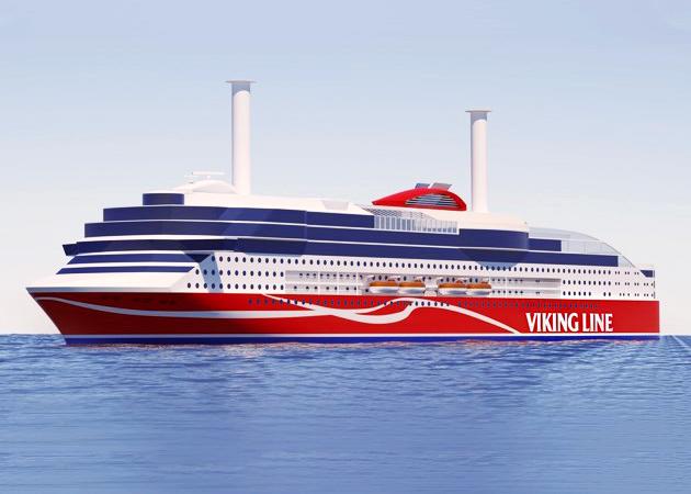 Ένα eco-friendly πλοίο ναυπηγείται για την Viking Line