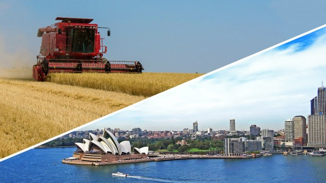 Μεγέθη ρεκόρ στις συγκομιδές σιταριού της δυτικής Αυστραλίας