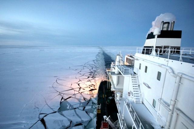 Λιώσιμο πάγων και τάσεις ναυσιπλοΐας στην Αρκτική