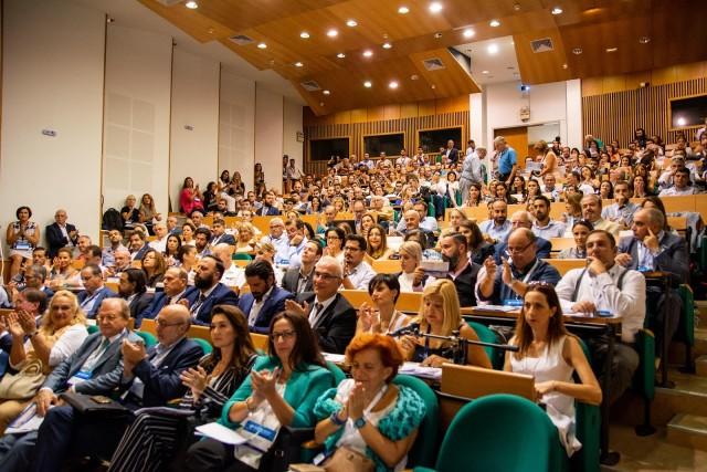 Αμφιθέατρο της Σχολής Επιστημών της Διοίκησης στη Χίο – Πανεπιστήμιο Αιγαίου.