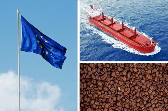 Πως διαμορφώθηκε το εμπόριο καφέ το 2017 στις χώρες της Ε.Ε.