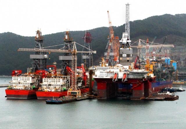 Εκσυγχρονίζεται η ναυπηγική βιομηχανία της Ν. Κορέας