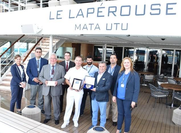 Το εντυπωσιακό κρουαζιερόπλοιο «Le Laperouse» για πρώτη φορά στον Πειραιά