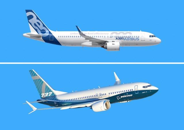 «Μάχη» στους αιθέρες για Airbus & Boeing