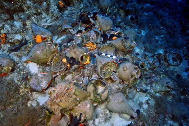 58 νέα αρχαιολογικά ευρήματα στον βυθό των Φούρνων
