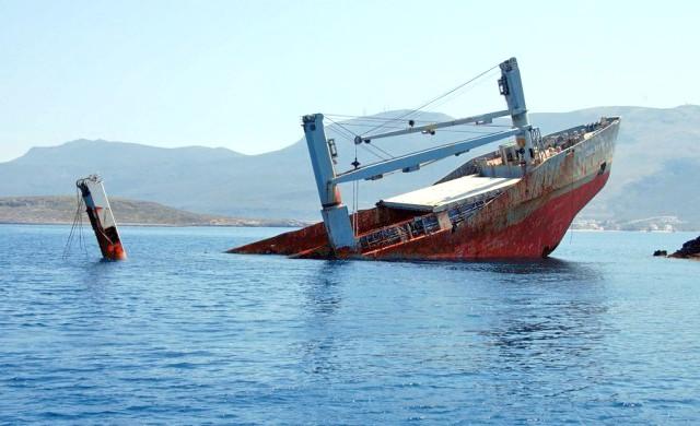 Βύθιση πλοίου στη Μαύρη Θάλασσα