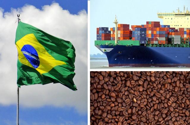 Βραζιλία: Το ρεκόρ παραγωγής καφέ βραχυκυκλώνει τις εξαγωγές