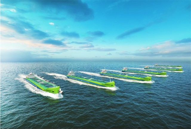Το Project Forward ανοίγει το δρόμο για τη μείωση των εκπομπών CO2 από τα πλοία