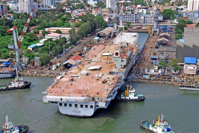 Επέκταση για το μεγαλύτερο κρατικό ναυπηγείο της Ινδίας