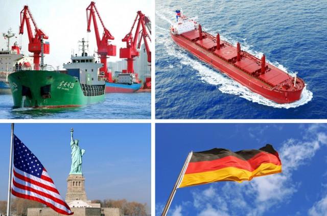 Οι χώρες με τις μεγαλύτερες εξαγωγές