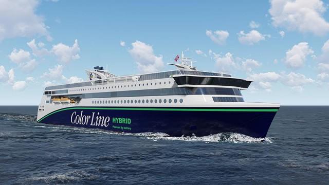 Το μεγαλύτερο υβριδικό ferry του κόσμου