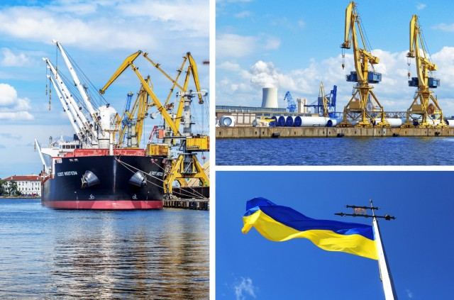 Η Ουκρανία στοχεύει σε εκσυγχρονισμό των λιμένων της