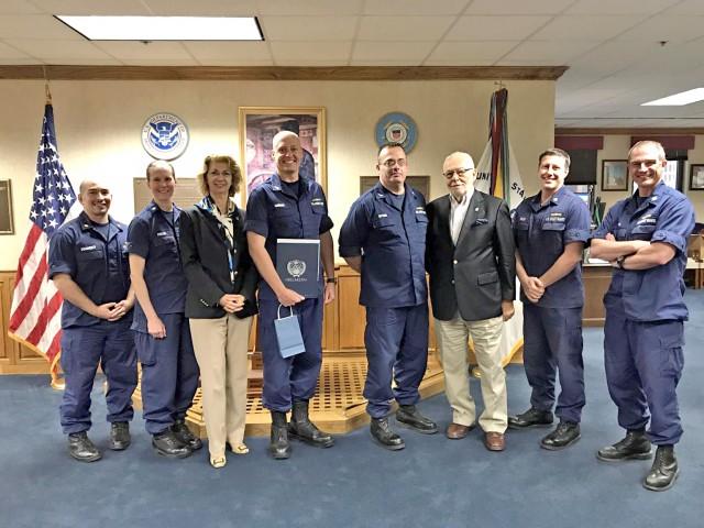 Συνάντηση HELMEPA με US Coast Guard Eighth District- Λουιζιάνα