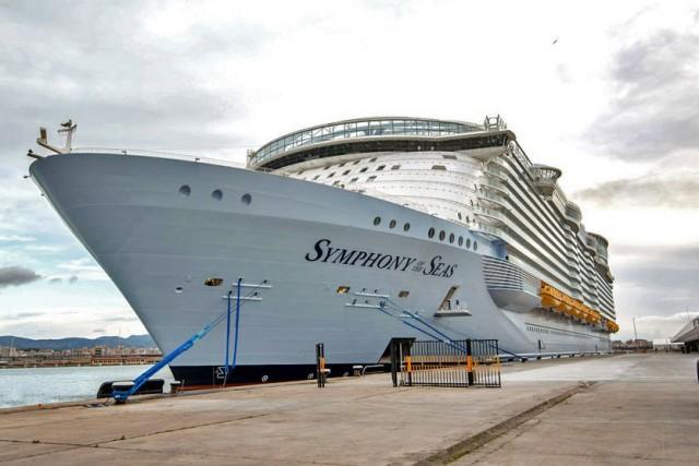 Το λιμάνι του Μαϊάμι υποδέχεται το μεγαλύτερο κρουαζιερόπλοιο του κόσμου (Βίντεο)