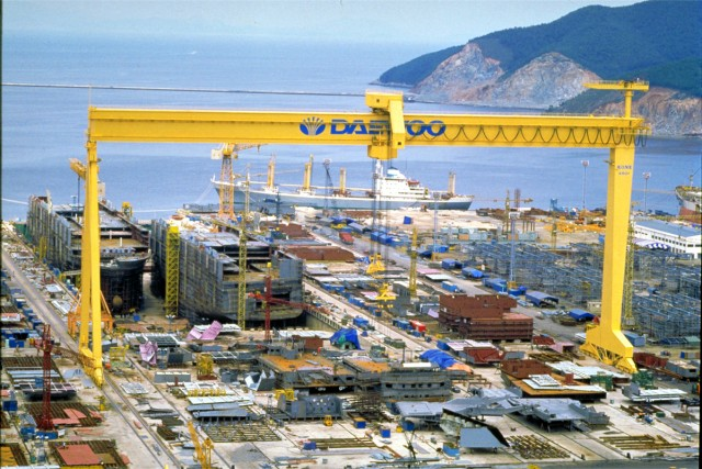 Ζημίες για την Daewoo Shipbuilding & Marine Engineering