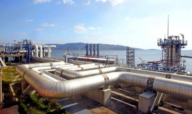 Εγκαίνια για την τρίτη δεξαμενή LNG του ΔΕΣΦΑ στη Ρεβυθούσα
