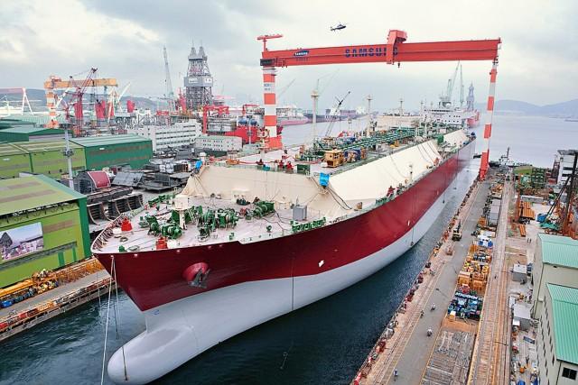 Ηγέτες οι Νοτιοκορεάτες στις ναυπηγήσεις LNG carriers