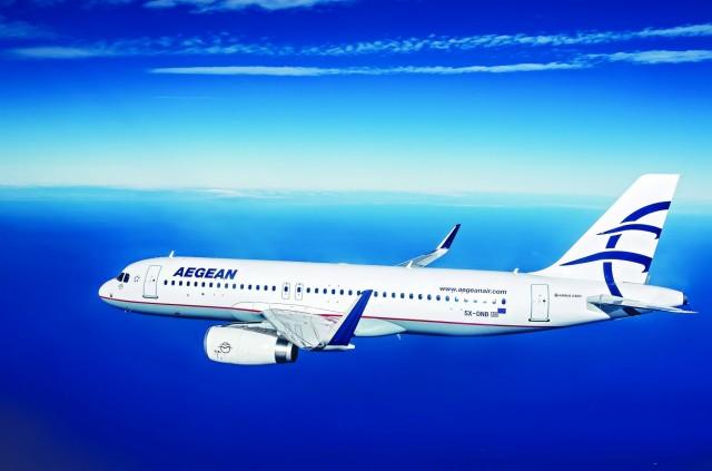 Αύξηση κερδών κατά 13% για την Aegean Airlines