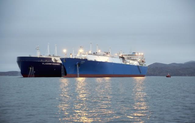 Η πρώτη ship-to-ship μεταφορά LNG στην Νορβηγία