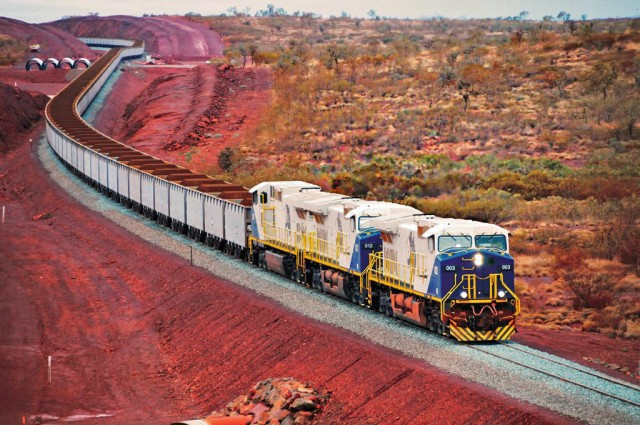 Iron ore: Αύξηση των αυστραλιανών εξαγωγών προς την Κίνα