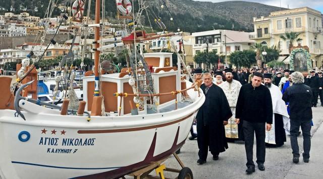 Σήμερα εορτάζει ο Άγιος Νικόλαος, ο προστάτης των ναυτικών μας