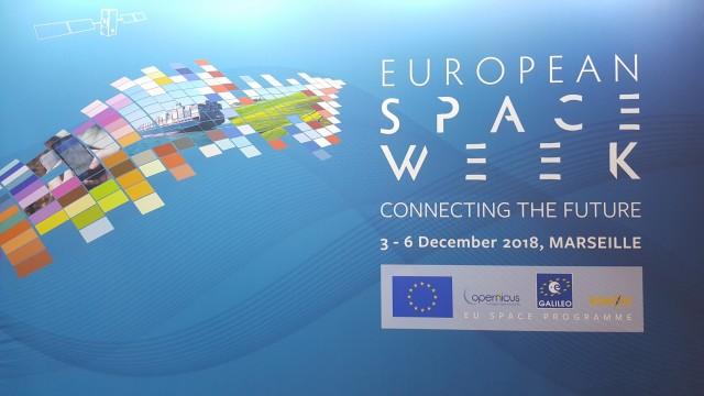 Εφέτος η Ευρωπαϊκή Εβδομάδα Διαστήματος διοργανώθηκε στη Μασσαλία.