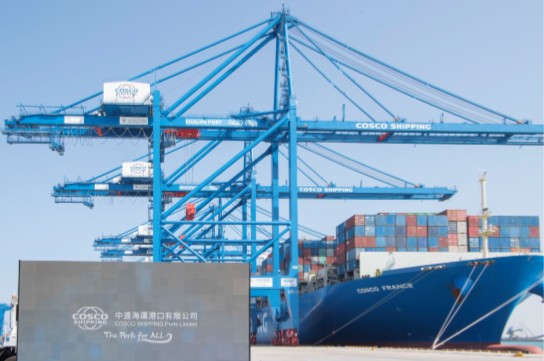Μεγάλη επένδυση COSCO στο λιμάνι του Άμπου Ντάμπι